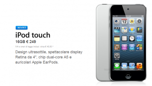 ipod touch low cost