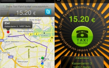 iphone app taxometer taxi