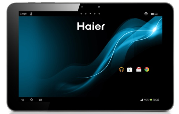 HaierPad Mini 781 tablet