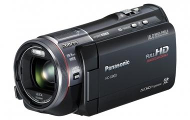 panasonic-hc-x900 fotocamera