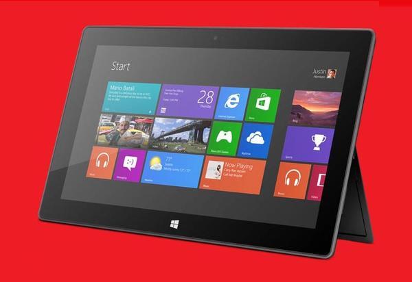microsoft surface windows 8 tablet caratteristiche tecniche