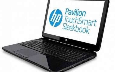 notebook hp pavilion touchsmart sleekbook prezzo