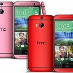 HTC One M8 Rosa e Rosso in Francia da Settembre