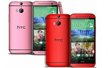 HTC One M8 Rosa e Rosso in Francia da Settembre data di uscita